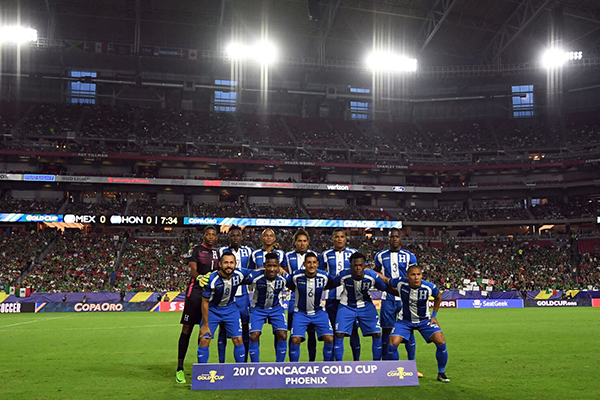 El once titular de Honduras contra México que cerró una de las peores participaciones en la Copa Oro