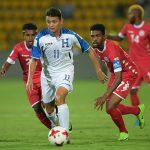 Carlos Mejía y Patrick Palacios anotaron un doblete y Honduras goleó a Nueva Caledonia