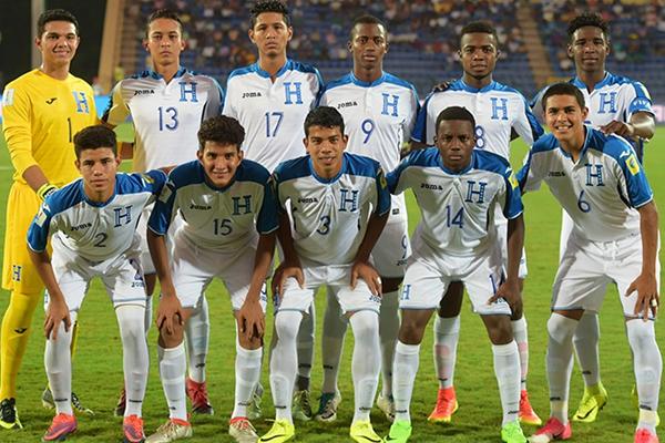 Honduras vs Francia Sub 17