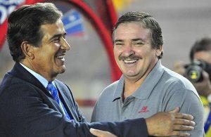 Oscar Ramirez y Jorge Luis Pinto