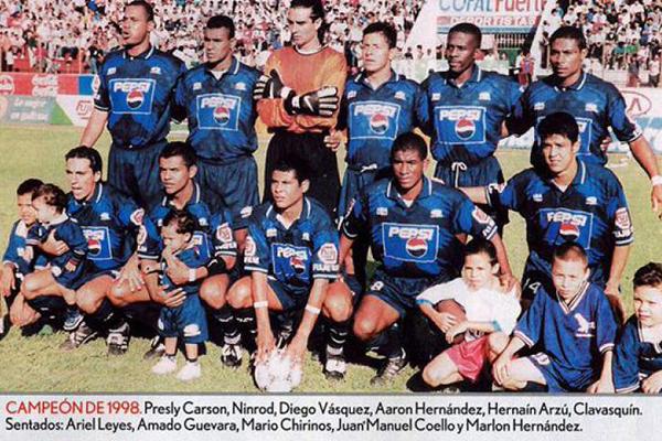 Motagua campeón de 1998