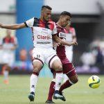 ¿ Qué le pasó a Alex López contra Saprissa ?