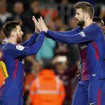 Hat-trick de Messi ayuda al Barcelona a igualar récord sin perder en 38 fechas