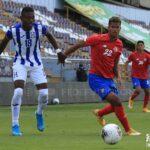 Yael López privó a la U-23 de Honduras del triunfo ante Costa Rica