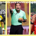Histórico, por primera vez terna de árbitros hondureños dirigirá un partido en Copa Oro