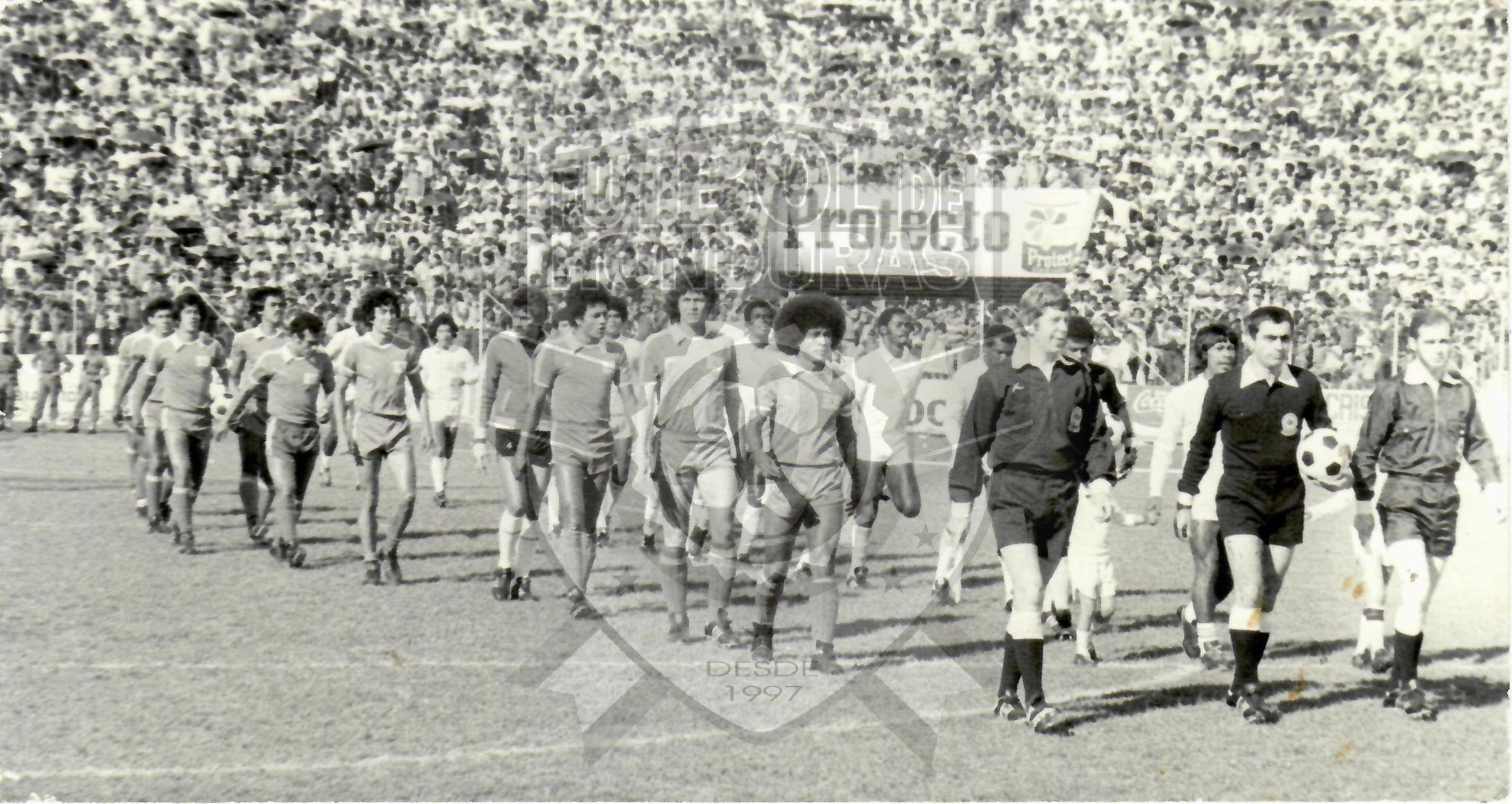 Honduras vs El Salvador 1985