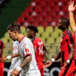 Olimpia arrolló al Inter Moengo
