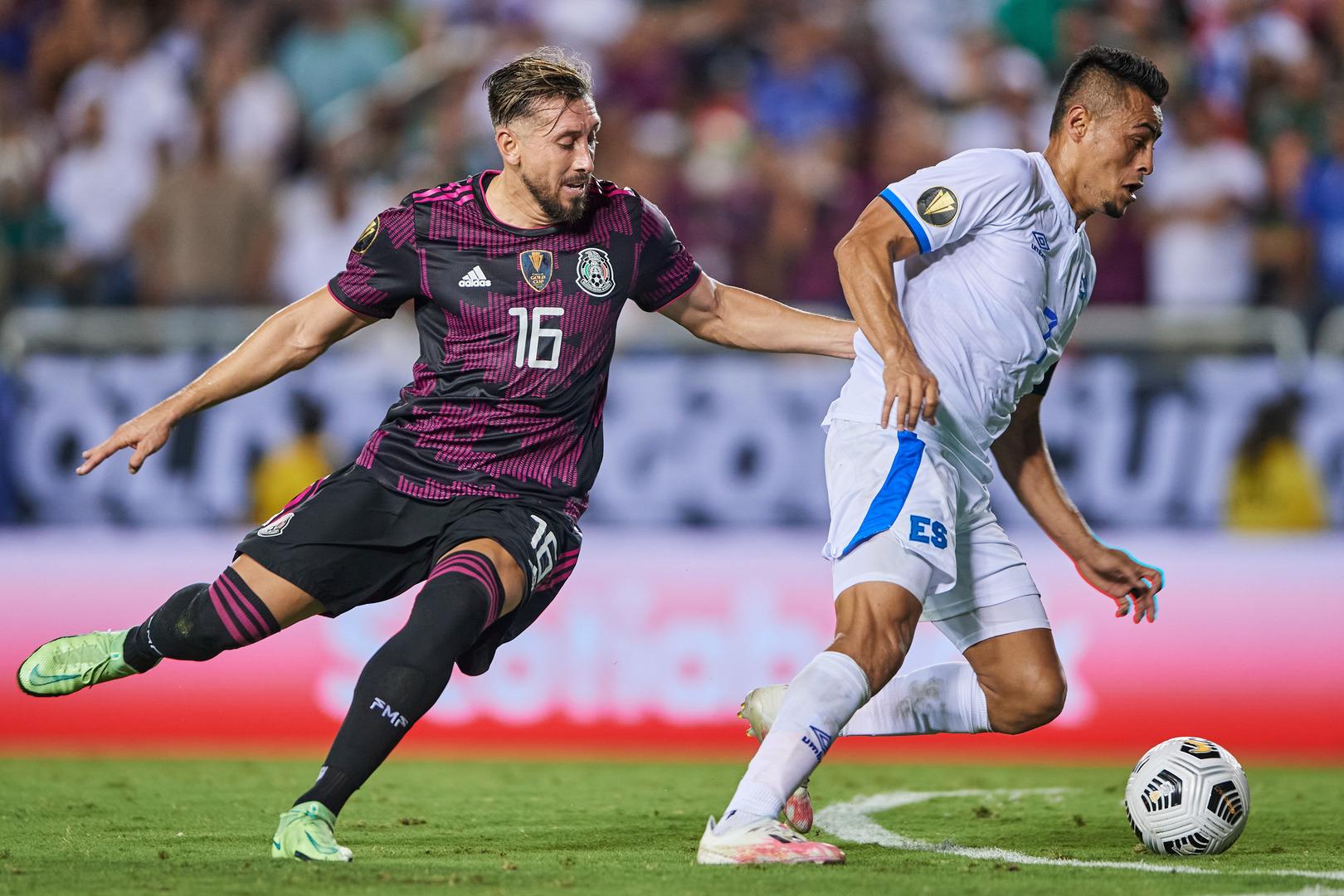 El Salvador vs Mexico