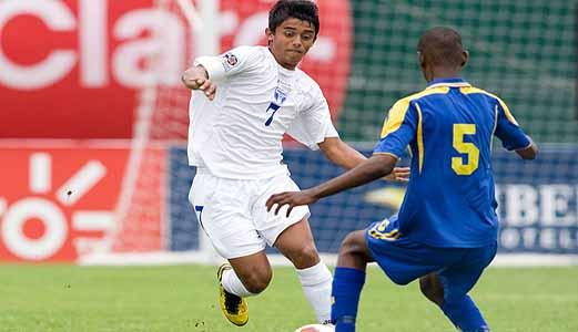 Kelvin Nuñez (7) contra Barbados